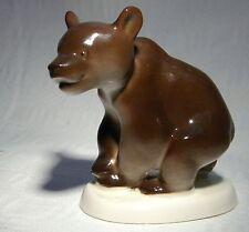 LOMONOSOV USSR BROWN  BEAR
