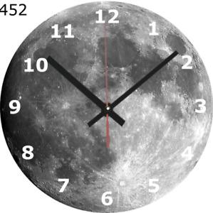 WALL CLOCK full moon 25cm spiritual home furniture home decor decoration diy 452