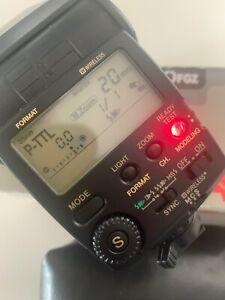 Pentax AF-360FGZ Flash for Digital SLR Cameras, P-TTL Boxed