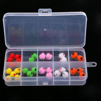 36pcs 12# Glo Bug Egg Flies Fly Fishing Trout Salmon Fly Fishing Lures