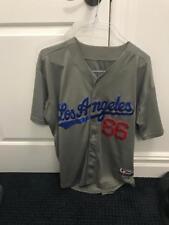 Yasiel Puig LA Dodgers grey jersey used little size xl