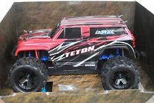 Traxxas TRX 76054-1 Red LaTrax Teton 1 18 4wd Monstertruck RTR Set Boxed