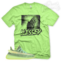 "New ""BLESSED HANDS"" T Shirt for Adidas Yeezy Boost 350 YeezReel Reflective Glow"