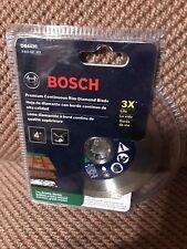 """Bosch 4"""" Premium Continuous Rim Diamond Blade DB443C"""