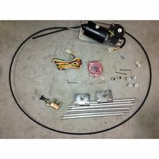 1928-1947 Early Ford Wiper Kit + Wiring Harness hot rod rat windshield glass fat