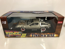 Sunstar Back to The Future III Delorean Time Machine - 1 18 Car - H2712
