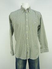 Barbour camisa talla M/verde a cuadros & trend-como nuevo (o 0888)
