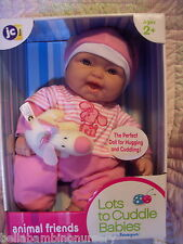 BeReNgUeR LoTs To CuDdLe AniMaL FriEnDs 15 InCh BaBy DoLl
