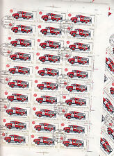 CCCP 1985 URSS 31 feuilles 30TP 10k Voitures de pompiers modele 1957