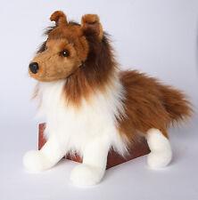 Whispy Sheltie Adorable soft plush  stuffed collie dog shetland sheepdog New!
