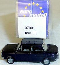 NSU TT Camión Negro Imu / EUROMODELL 07001 H0 1/87 emb.orig # LL 1 å