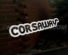 Corsaway coche decal sticker Vauxhall Corsa a B C D Vxr Sxi CDTI Ecotec