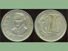 URUGUAY   10 nuevo pesos 1981  ( bis )