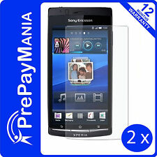 Fonerange screen protector twin pack pour Sony Ericsson Xperia Arc/Arc S