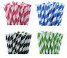 1000 Biodegradable Paper Drinking Straws Mix colour Cafe Take Away  BULK BUY