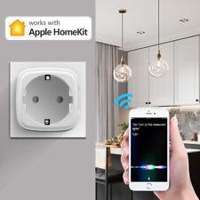 Apple Homekit WLAN Smart Steckdose WIFI Socket Plug iOS App Siri Sprachsteuerung
