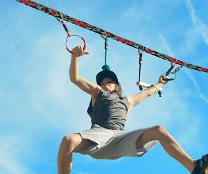 Slackers Ninja Line, NinjaParkour & Slackline bis max. 113kg, Outdoor Training