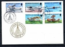 Handstamped Aviation Great Britain Stamps