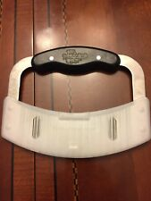 Euc Retired Pampered Chef Crinkle Cutter Garnisher Stainless Steel With Cover