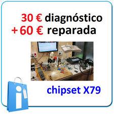 SERVICIO de Diagnostico de PLACA BASE X79 X99 2011 V3 e INTENTO de Reparacion
