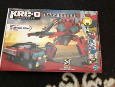 Kre-o Transformers Sentinel Prime 386 Pcs (used Missing  Kreons)