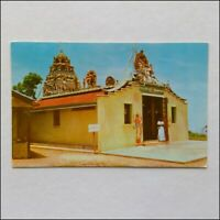 A Hindu Temple On Top Of Penang Hill 1973 Postcard (P398)