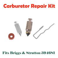 Carburetor Float Valve Needle Seat Kit For Briggs & Stratton # 394681 Carb VQ