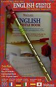 WALTONS ENGLISH PENNY WHISTLE Book & Whistle*