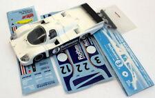 Solido Diecast Escala 1/43 - 177 Porsche 956 #3 Le Mans 1983 Racer + calcomanías