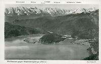 Ansichtskarte Walchensee gegen Wettersteingebirge  (Nr.9236)