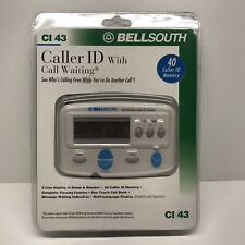 Bellsouth Caller ID With Call Waiting CI 43 - NEW White 90 Caller ID Memory