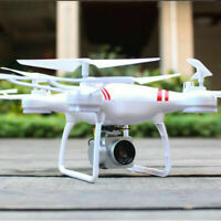 2 Battery WIFI Camera Drone FPV 2.4G 6-Axis RC Quadcopter HD Toys Explorer RTF