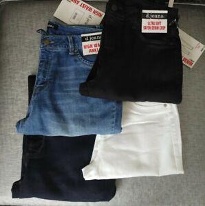 """NEW Skinny d jeans LONG 28"""" ANKLE 26"""" SHORT 24"""" High waist skinny Blue Jeggings"""