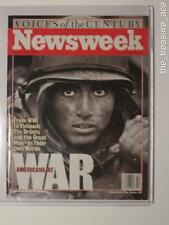 ~MARCH 1999~Newsweek~VOICES OF THE CENTURY~Americans at War~WWI to Vietnam~