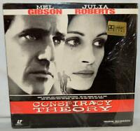 CONSPIRACY THEORY LASER DISC DOLBY DIGITAL JULIA ROBERTS MEL GIBSON WIDE SCREEN