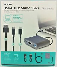 North Usb-C Hub Starter Pack Laptop Docking Station In Box New Other