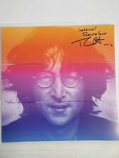 USPS John Lennon Vinyl Book signed by photographer Bob Gruen 2018