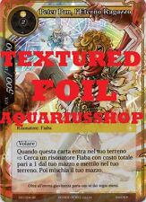 Force of Will Peter Pan l'Eterno Ragazzo CFC-004 ITA TEXTURED FOIL SR FOW