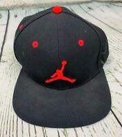 Nike Jordan Jumpman Snapback Cap Basecap One Size Adjustable Black 56323