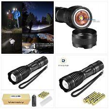 Led Torch Tactical Flashlight, Vansky Pocket Torch 800 Lumen Cree XML2 T6 Adjust