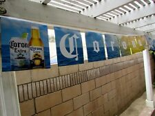 17' Corona Extra Bottle Beach Sunset Beer String Banner sign Tropical Bar Ocean