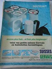 PUBLICITE 1966  Petits Suisses Gervais
