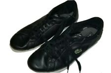 LACOSTE MARLING SPM Men's Low Casual Shoes Black/Dark Grey/White Sneaker Size 14