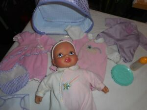~SOFT BABY DOLL..CRIES (TILL FED OR HELD) COOS, GETS FEVER....12.99