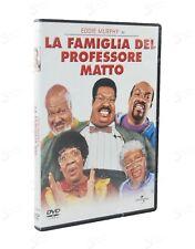 LA FAMIGLIA DEL PROFESSORE MATTO 2000 EDDIE MURPHY JANET JACKSON Universal DVD