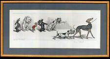 More details for sealyham terrier french bulldog - dirty dogs of paris - boris o'klein engraving