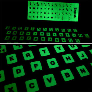 Keyboard Stickers For Hebrew Arabic French Spanish Russian English Korean