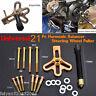 Heavy Duty Steering Wheel Puller Harmonic Balancer Gear Pulley Crankshaft Tool