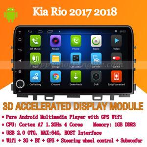 Head Unit for Kia Rio 2017 2018 Car DVD Player GPS Navigation Radio Stereo