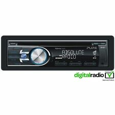 Pure DAB+ Radio Car Headunit Stereo CD Player With iPhone Control